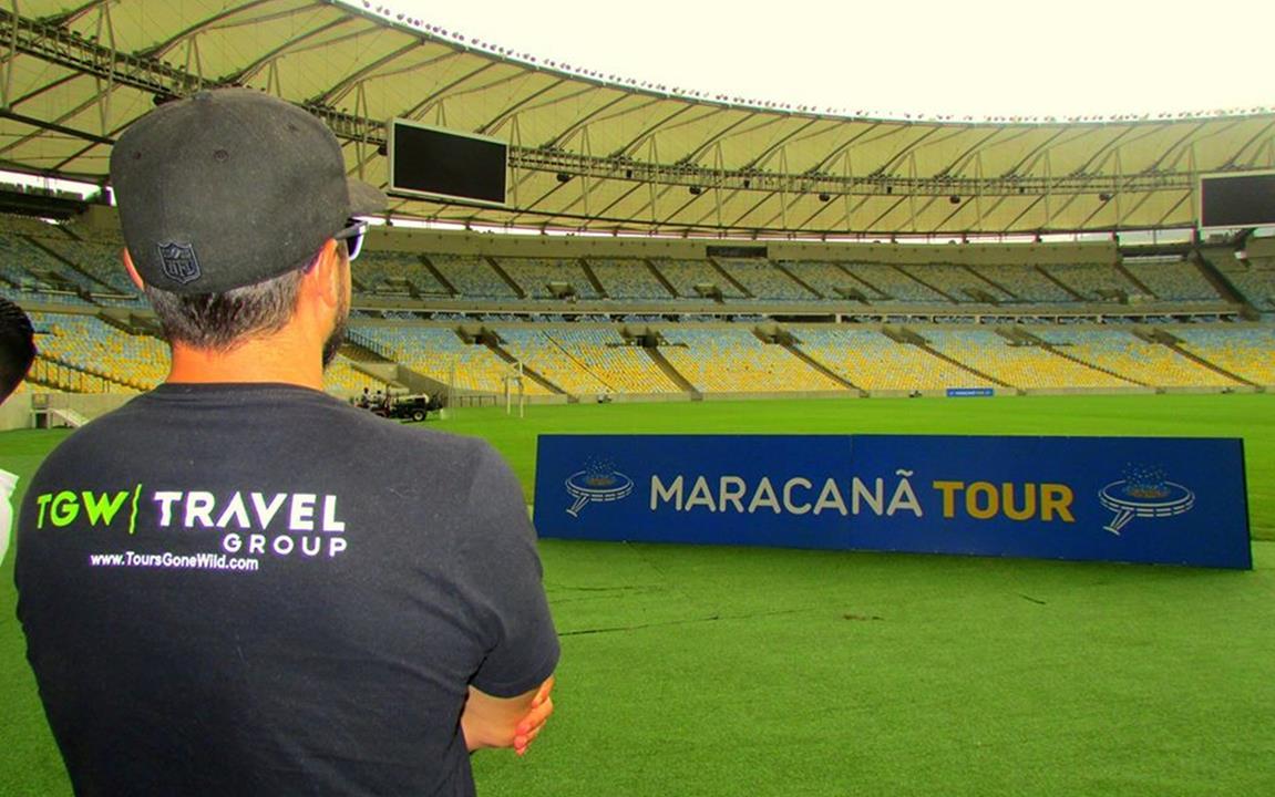 Maracana Soccer Stadium Tour