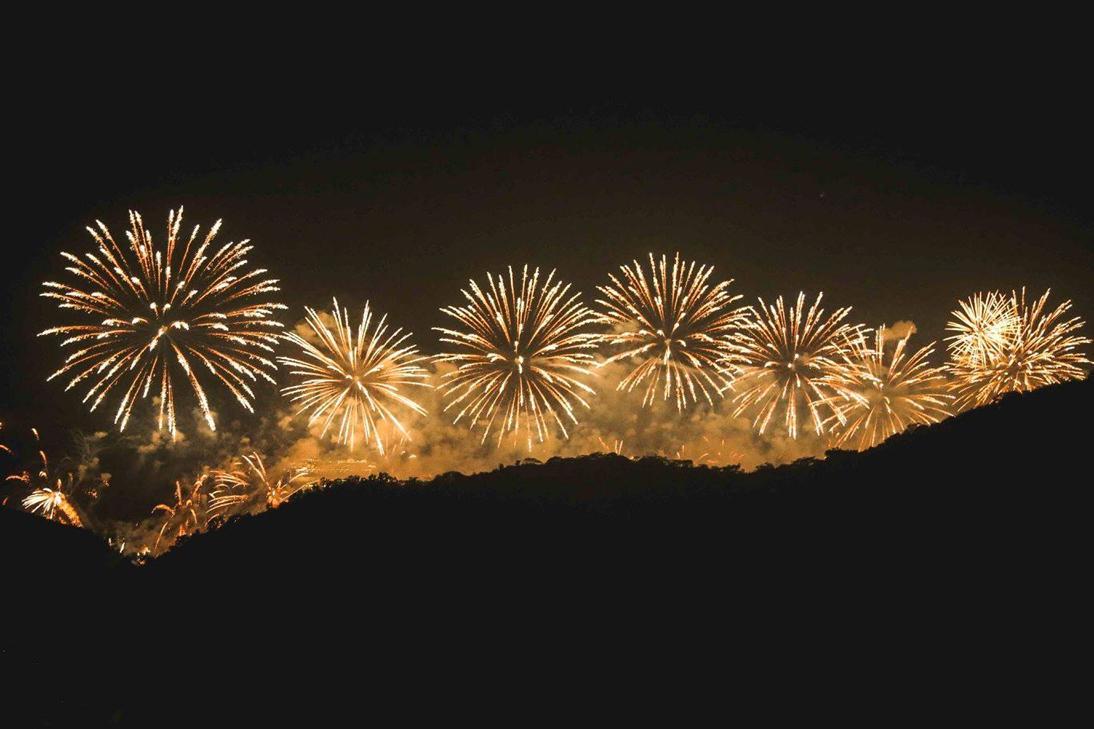 Morro da Urca News Years Eve Party