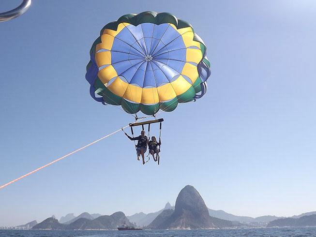 Rio de Janeiro Parasail Adventure