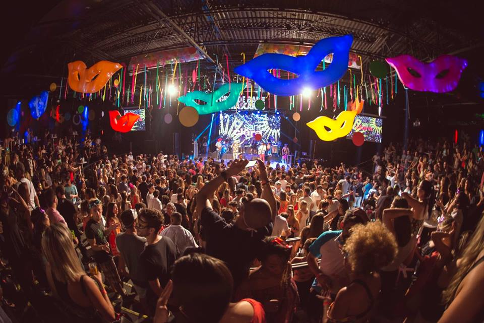 Rio de Janeiro Morro da Urca Post Carnival Party